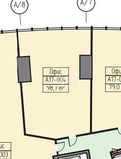 Аренда офиса, площадь 98.7 кв.м., 17 этаж, Пресненская наб, 12, район Пресненский