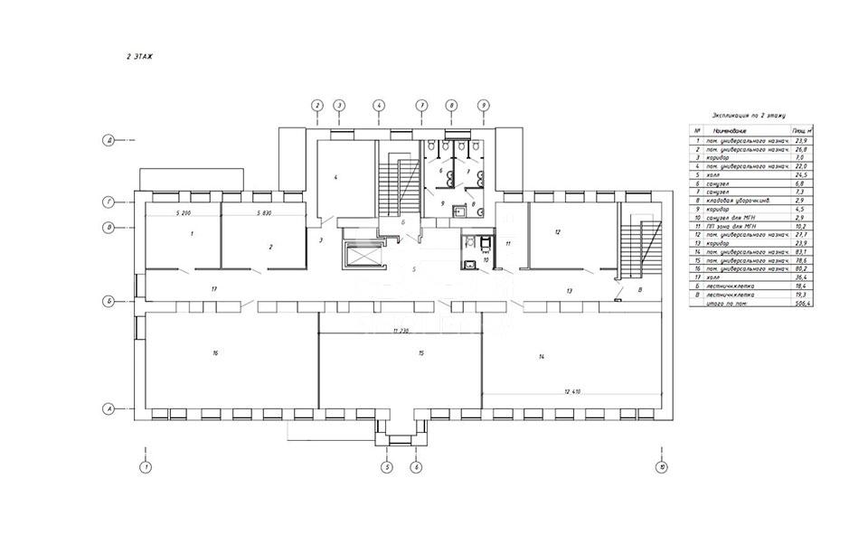Аренда помещения свободного назначения, Цветной б-р, 21 с.2