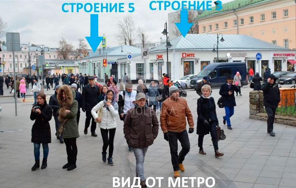 Продажа ОСЗ / особняка, Пятницкая ул, 31/2 c.3