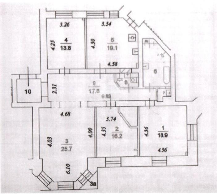 Продажа квартиры, Мира пр-кт, 74с1