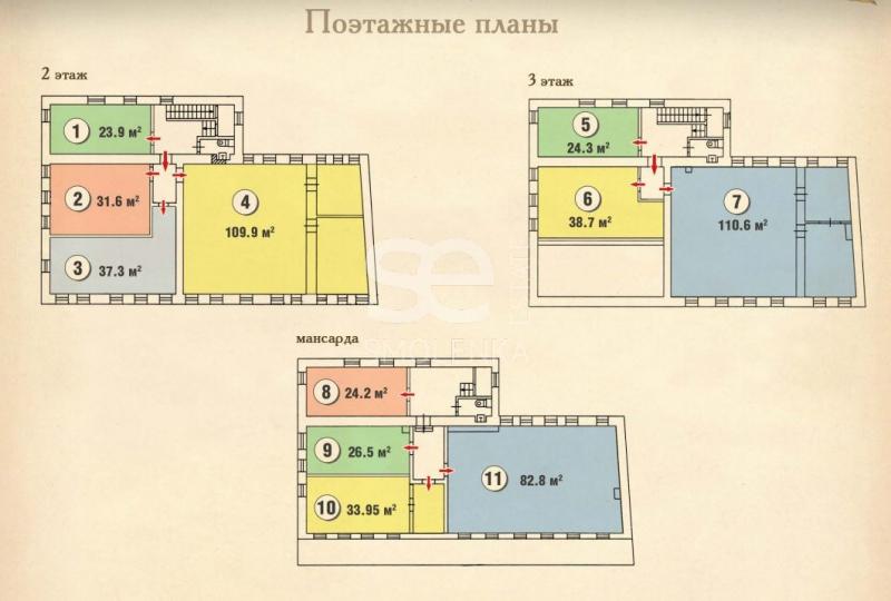 Продажа помещения свободного назначения, Руновский пер, 5 с.1