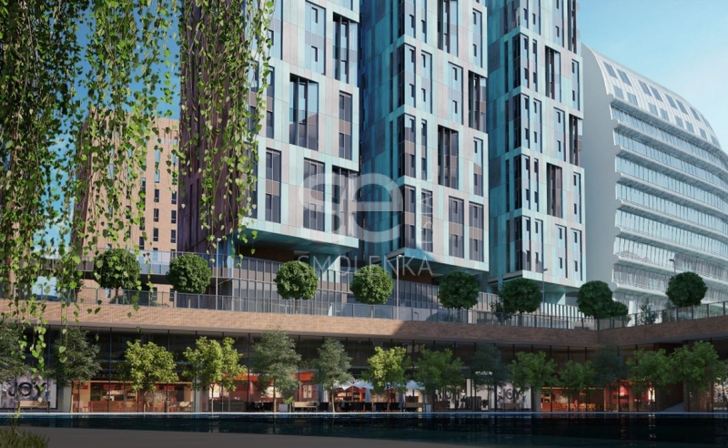 Продажа квартиры, площадь 119.71 кв.м., 8 этаж, ЖК Садовые кварталы, Ефремова ул, 12