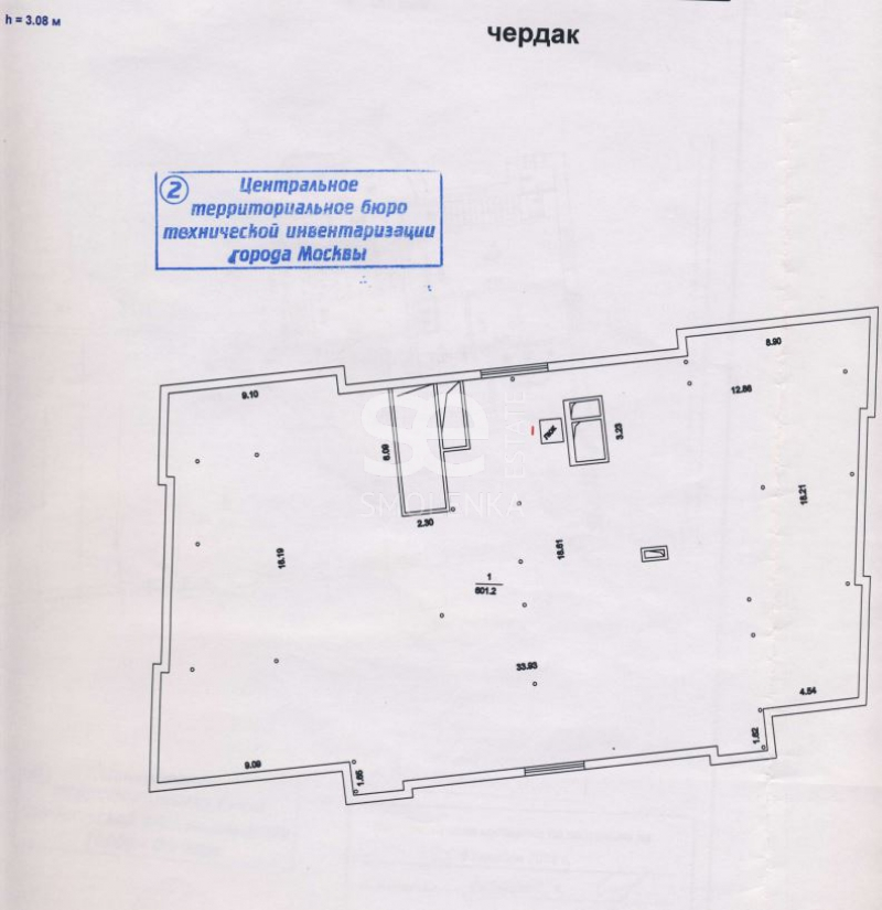 Продажа помещения свободного назначения, Турчанинов пер, 2а