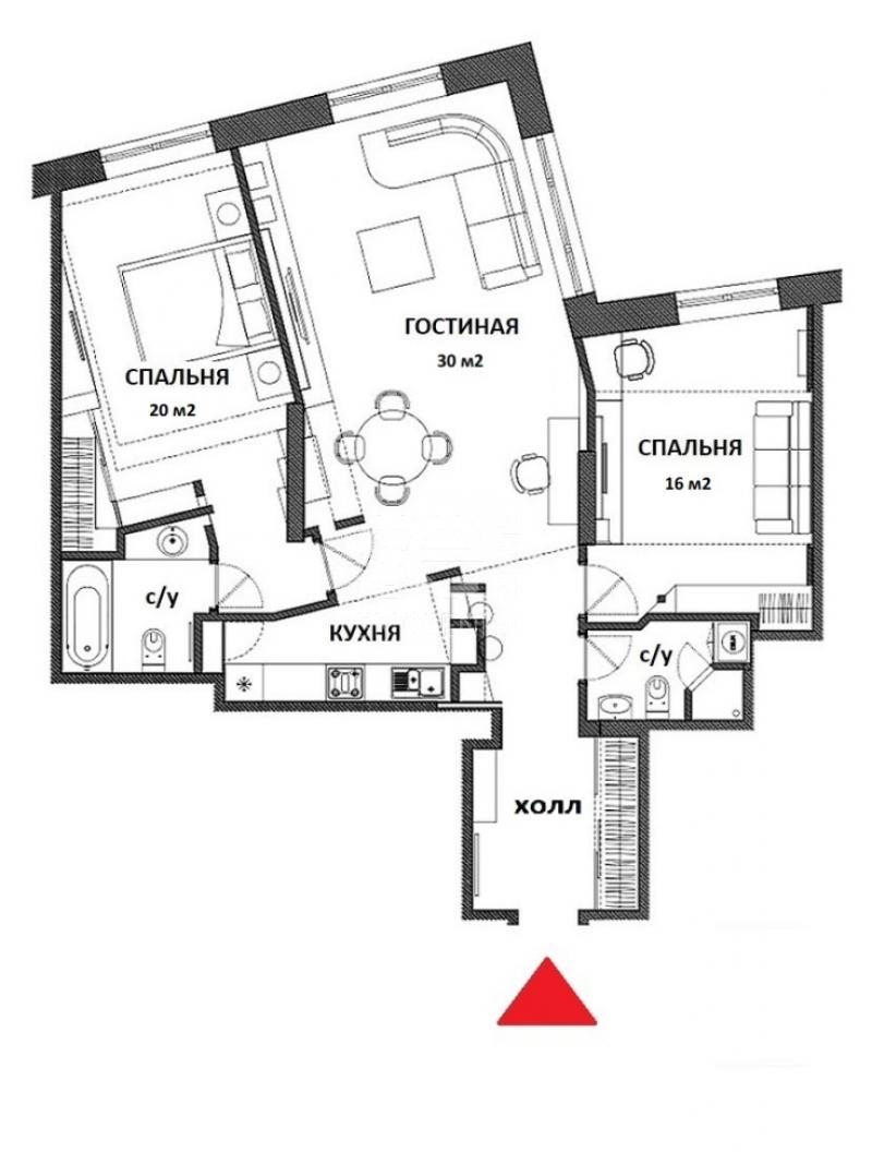 Продажа квартиры, ЖК Дом в Сокольниках, Русаковская ул, 31