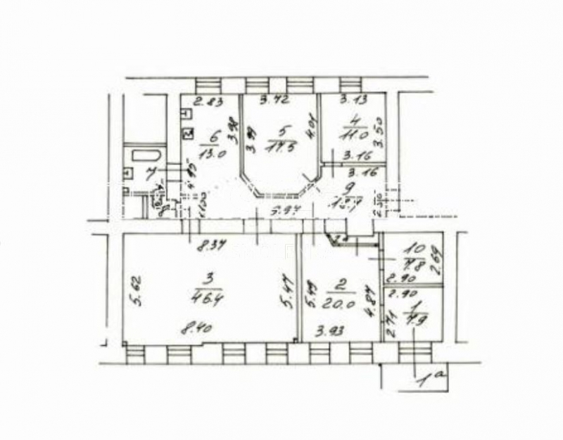 Аренда квартиры, Харитоньевский М. пер, 7 к.1