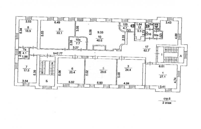Продажа помещения свободного назначения, Смоленская-Сенная пл, 27с.6