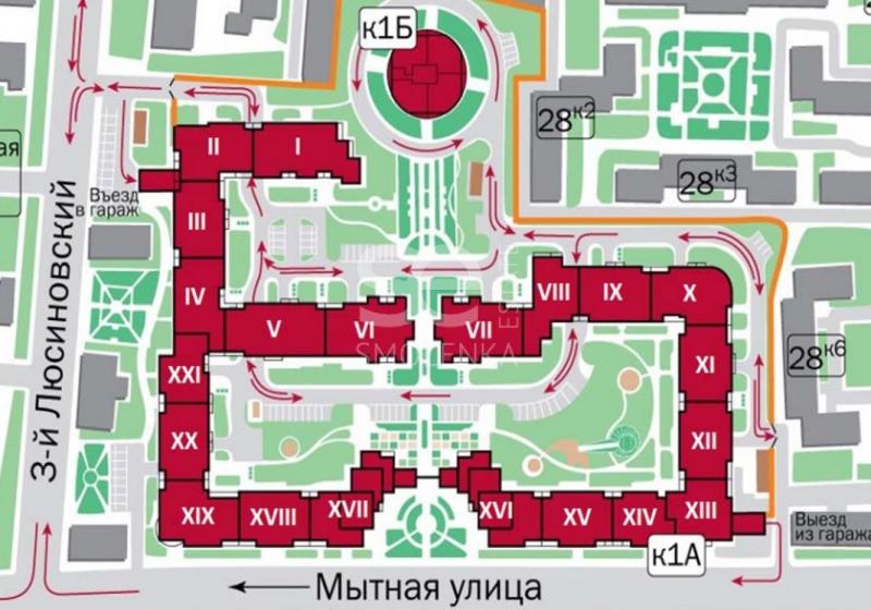 Продажа офиса, Мытная ул, 7 с1