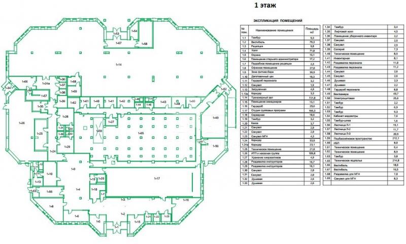 Продажа помещения свободного назначения, Марьинский б-р, вл32
