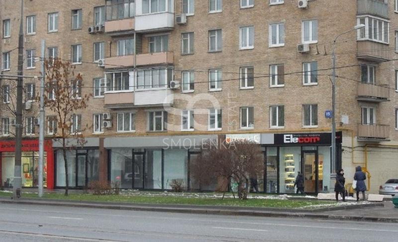 Аренда торгового помещения, Комсомольский пр-кт, 19