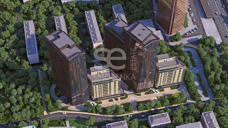 Sale Residential, Total area 52.1 m2, 2 Floor, Residential Complex Дыхание, Dmitrovskoe sh 13A