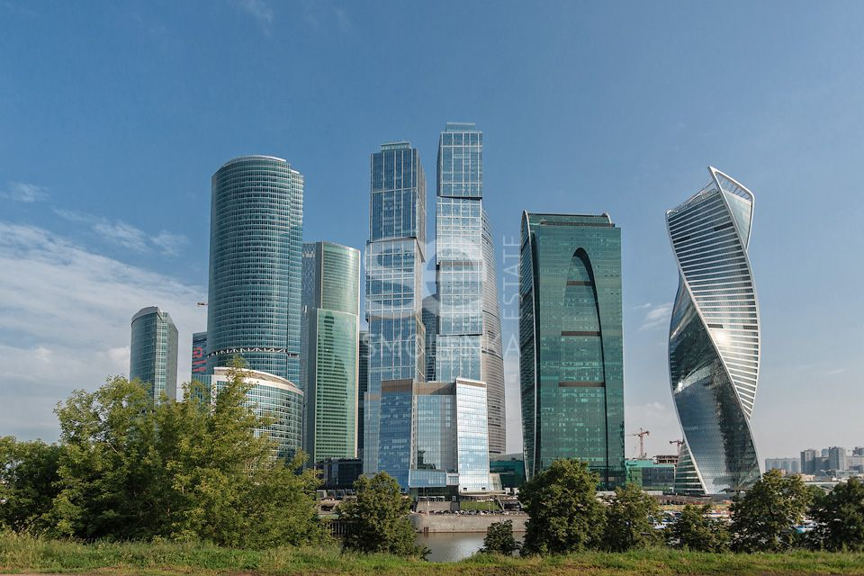 Rent Residential, Total area 225.5 m2, 58 Floor, Residential Complex Город Столиц, Presnenskaya nab 8s1