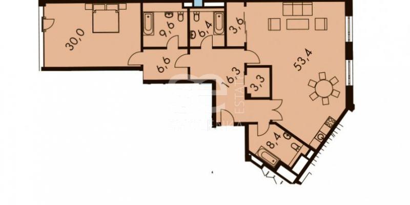 Продажа апартаментов, ЖК BALCHUG VIEWPOINT (Балчуг Вьюпоинт), Садовническая наб, 3-7