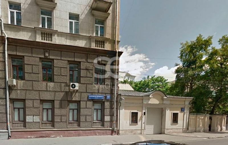 Продажа помещения свободного назначения, Полянка Б. ул, 41