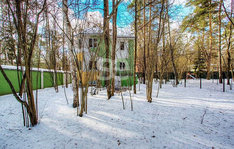 Rent Cottage, Total area 300 m2, Рублево-Успенское, Land area 8 acres