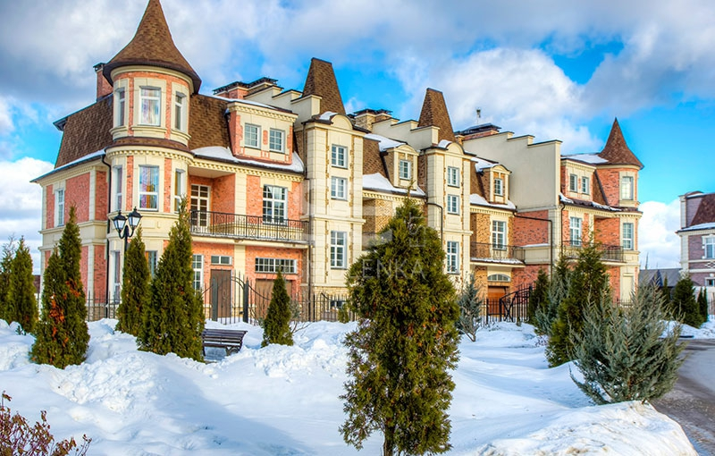 Sale House, Total area 298 m2, Cottage Village Ильинка, Ilinskoe shosse, Ильинское, Land area 3 acres