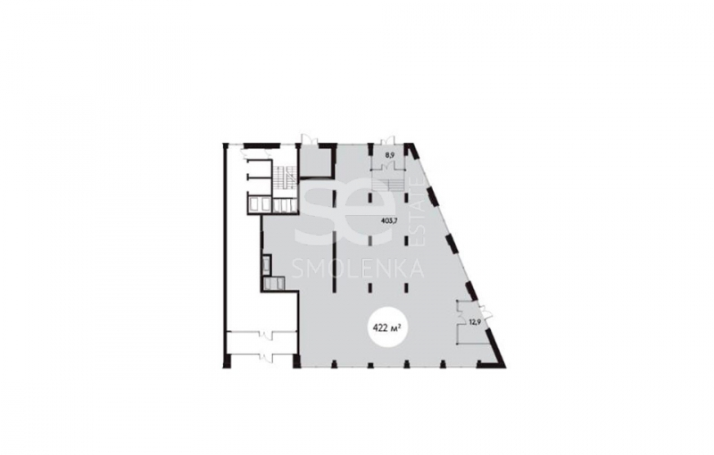 Продажа помещения свободного назначения, Рублевское ш, вл.101-105