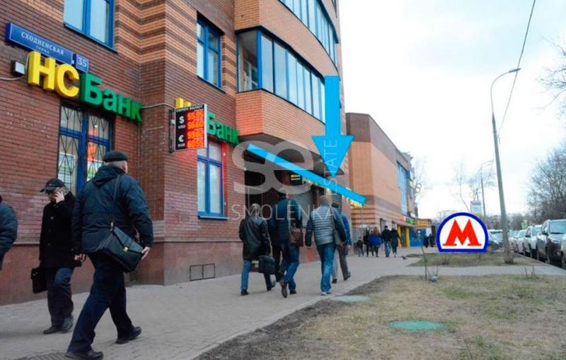Продажа торговой площади, Сходненская ул, 35 к.1