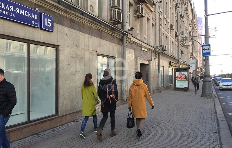 Аренда торгового помещения, Тверская-Ямская 1-я ул, 15