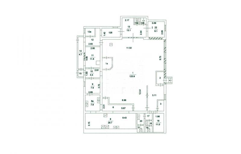 Продажа помещения свободного назначения, Моховая ул, 8 с.1