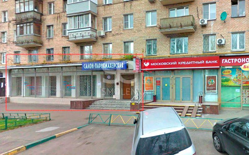 Аренда торговой площади, Сеславинская ул, 16 к.1