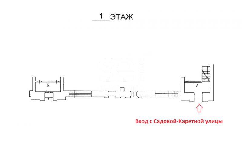 Аренда помещения свободного назначения, Садовая-Каретная ул, 4-6 с.1