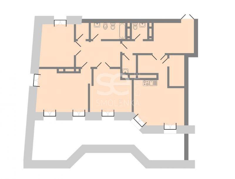 Продажа апартаментов, ЖК Каретный плаза (Karetny plaza), Каретный Б. пер, 24к2