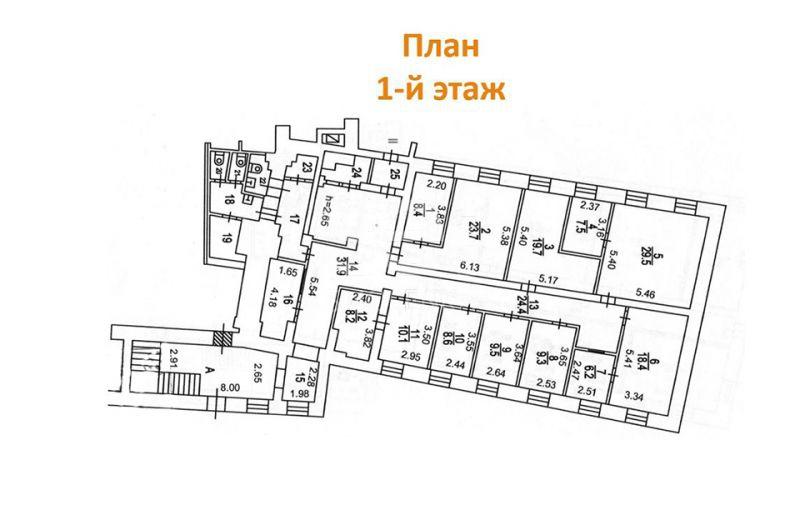 Продажа офиса, Кожевнический проезд, 4/5 с.5