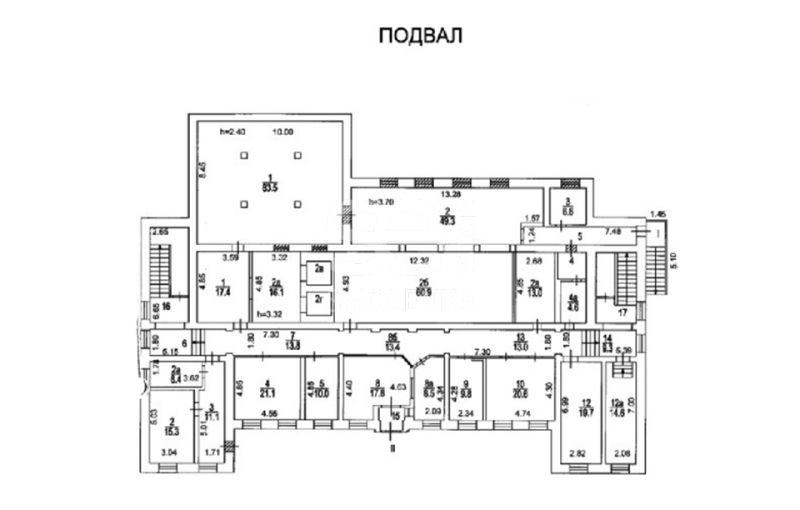 Продажа помещения свободного назначения, Петра Романова ул, 20