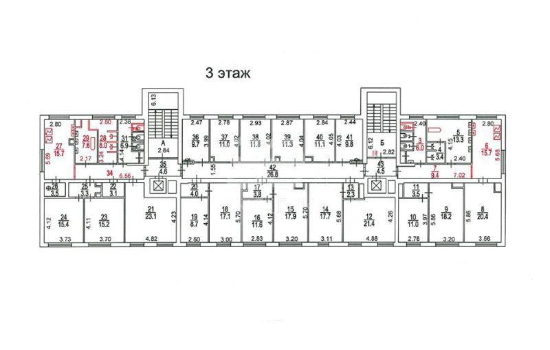 Продажа помещения свободного назначения, Фестивальная ул, 52