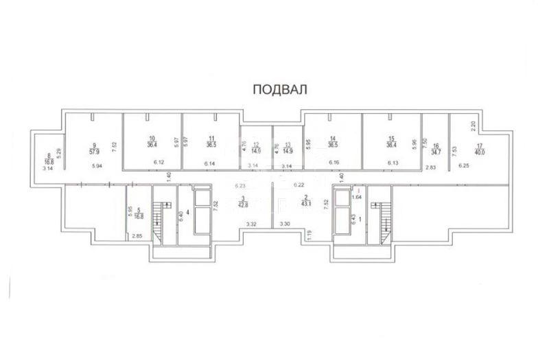 Продажа помещения свободного назначения, Соколиной Горы 5-я ул, 25 к.5