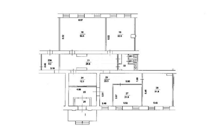 Продажа помещения свободного назначения, Соколиной Горы 5-я ул, 27 к.2