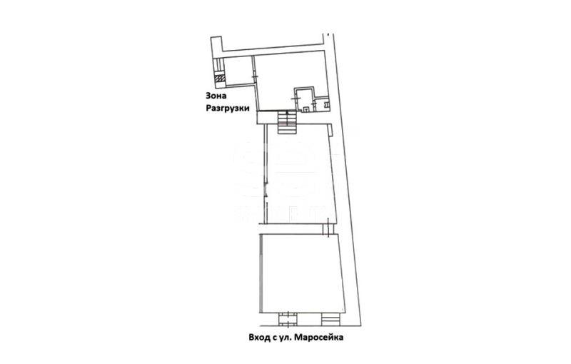 Продажа торговой площади, Маросейка ул, 15